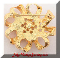 PREMIER DESIGNS Golden Bow Pearls Brooch