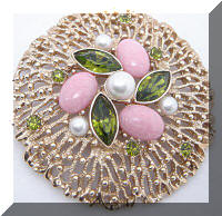 SARAH COVENTRY Fashion Splendor Brooch