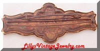 Vintage Whitehead Hoag 1893 fraternal fists brooch