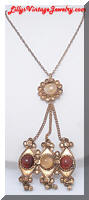 Vintage Fabulous Middle Eastern Style Pendant Necklace