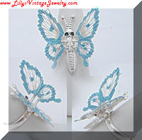Adorable Fluttering Butterfly Cocktail Trembler Ring